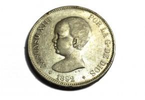 ALFONSO XIII - 1892