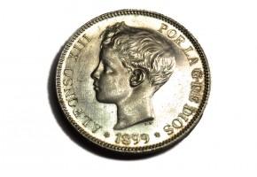 ALFONSO XIII - 1899