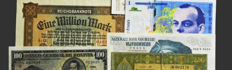 Billetes Extranjeros