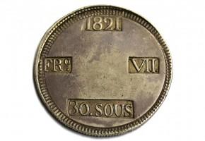 FERNANDO VII - 1821