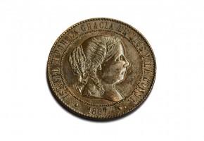 ISABEL II - 1867
