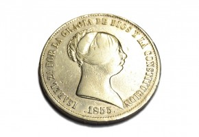 ISABEL II - 1855