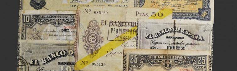 II República. Banco de España. Guerra Civil